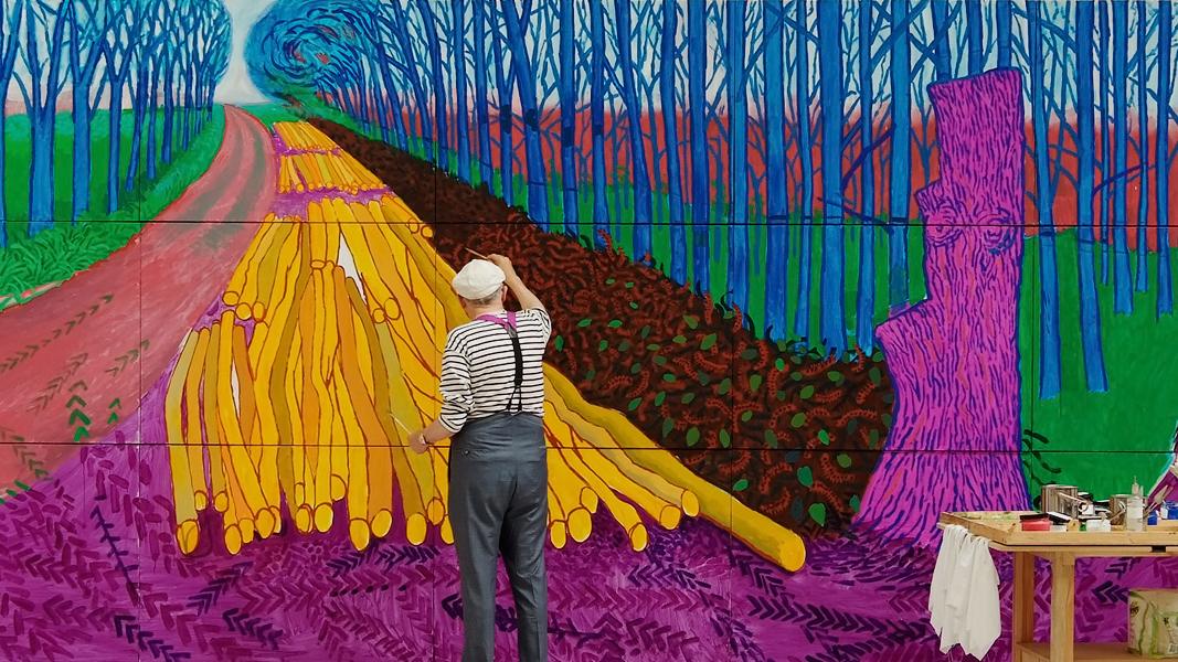 Купить билеты в кино на Дэвид Хокни: Поп-арт в Королевской академии художеств David Hockney at the Royal Academy of Arts | расписание сеансов, трейлер, обзор фильма, отзывы — ParkSeason