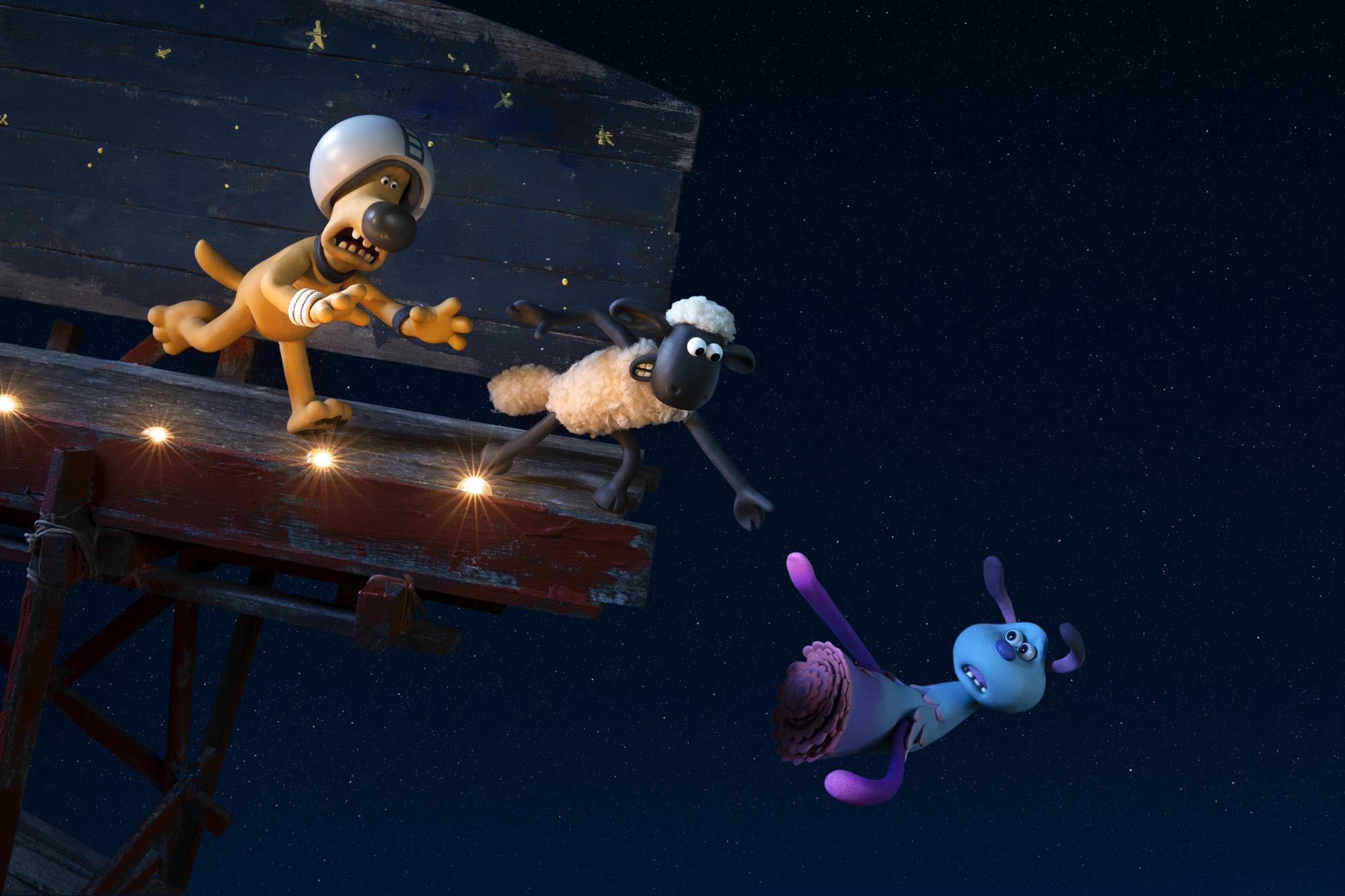 Купить билеты в кино на Барашек Шон: Фермагеддон Shaun the Sheep: Farmageddon | расписание сеансов, трейлер, обзор фильма, отзывы — ParkSeason