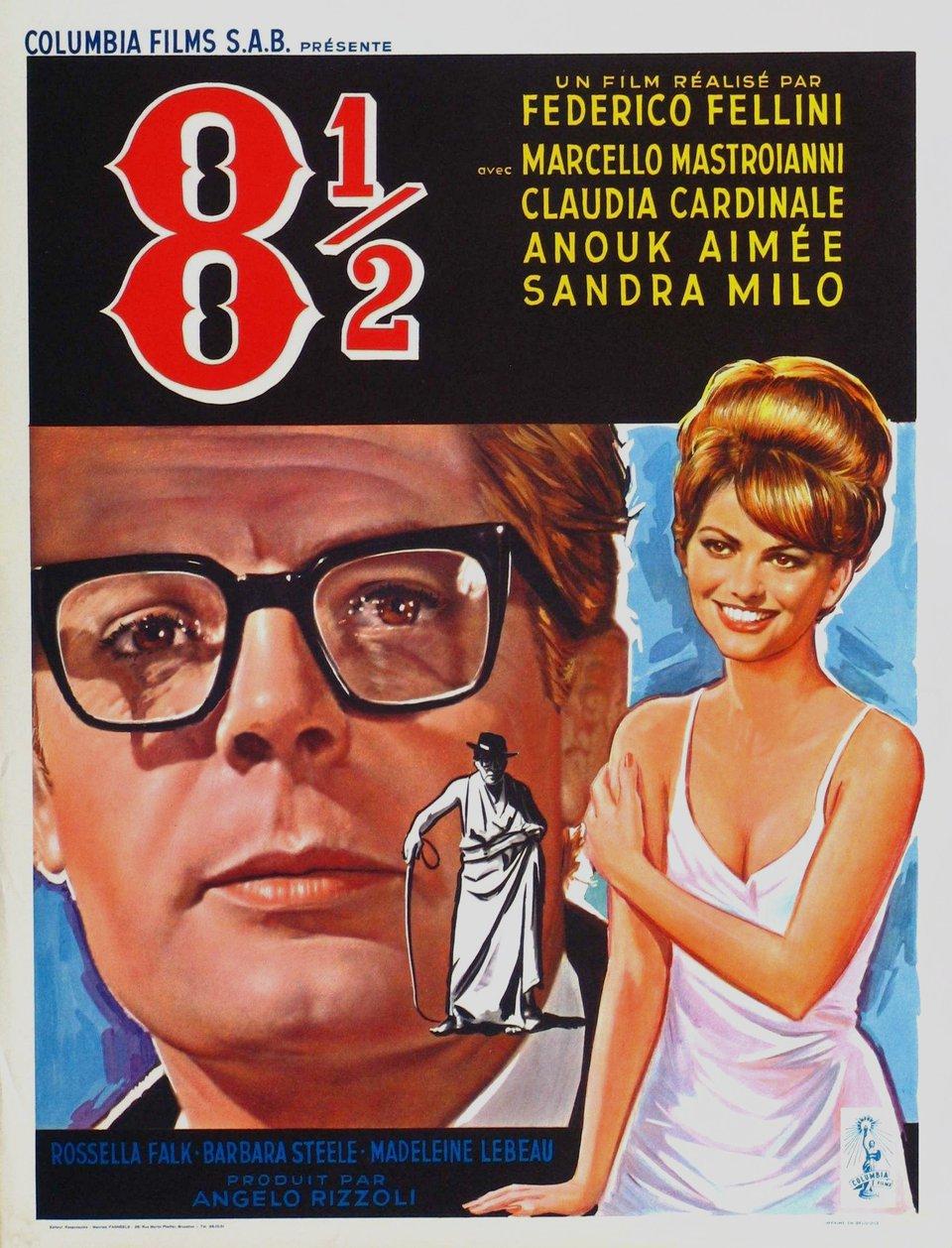 Купить билеты в кино на 8 1/2 Otto e mezzo | расписание сеансов, трейлер, обзор фильма, отзывы — ParkSeason