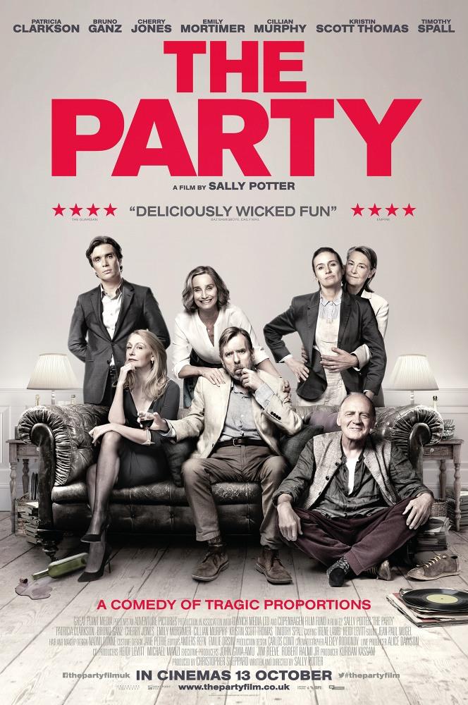 Купить билеты в кино на Вечеринка The Party | расписание сеансов, трейлер, обзор фильма, отзывы — ParkSeason